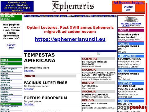 ephemeris.alcuinus.net