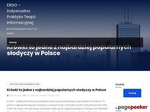 ERGO-Indywidualna Praktyka Psychologiczna i Psychoterapeutyczna Leszek Suligowski