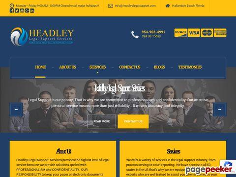 headleylegalsupport.com