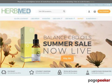 CBD OLJA Startpaket Med Startguide Sverige - Herbmed.se