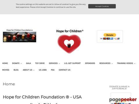 hopeforchildrenfoundation.org