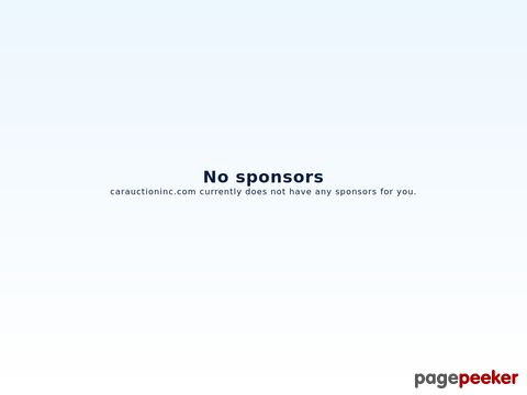 Government Seized Car Auctions - CarAuctionInc.com