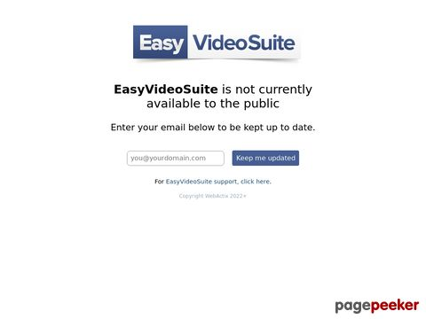 EasyVideoSuite » Build your lists faster than ever, attract an audience and quickly profit from video.. the easy way!