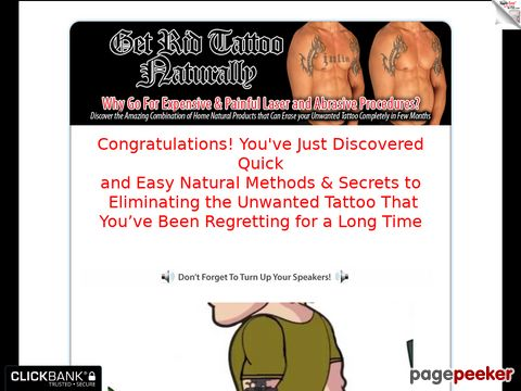 Get Rid of Tattoo Naturally - How to Remove Unwanted Tattoo ...