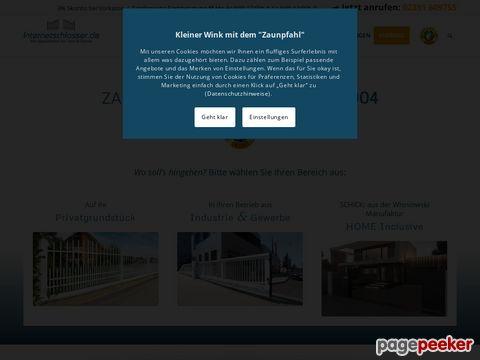 Internetschlosser-Ihr Spezialist fuer Tor und Zaunanlagen