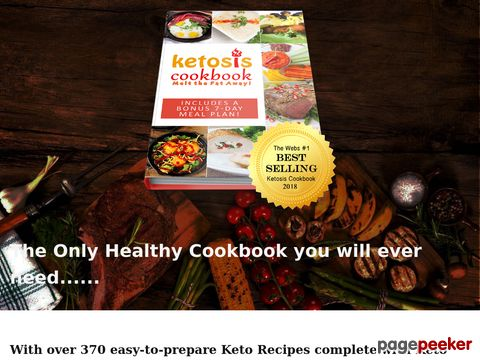 The Ketosis Cookbook includes Over 370 Amazing, Easy to Make...