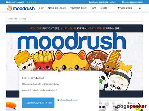 Moodrush.de - Online Smiley Kissen kaufen - Geschenk-Idee