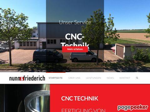 CNC Bearbeitung Heilbronn - Nunn & Friederich