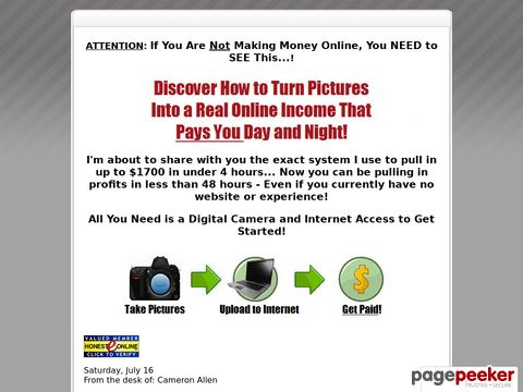 Paid for Pictures – Money For Pictures – Make Money Digital Camera
