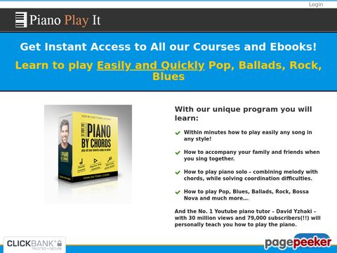 Learn to Play Piano by Chords – Join Now