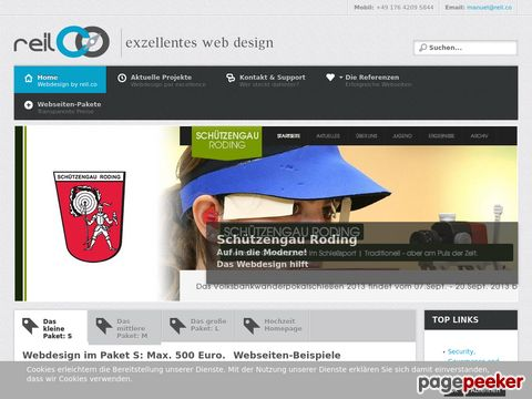 Webdesign by reil.co