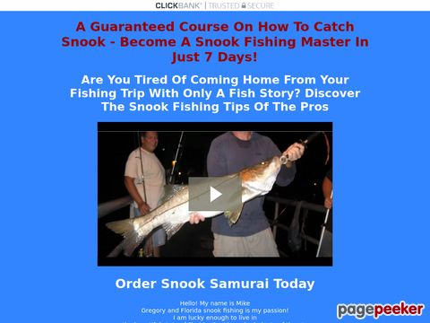 Snook Fishing - Learn How To Catch Snook