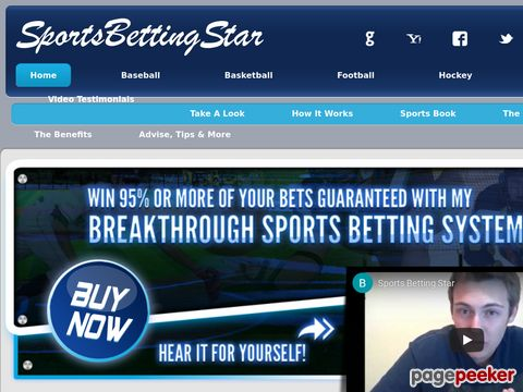 Sports Betting - Online - System - Tips - Football - Basketball - Baseball - Hockey