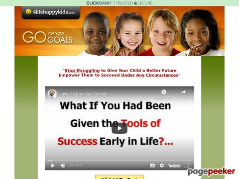 Law of Attraction for Kids - Parent and Child Goal Setting