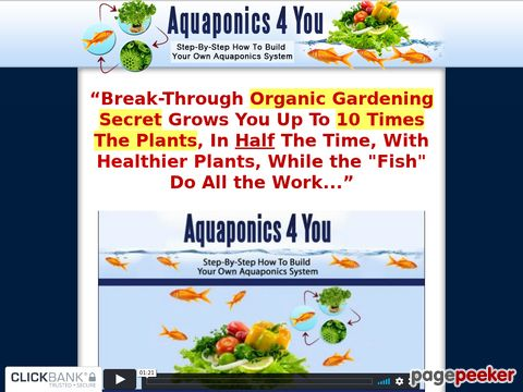 Aquaponics 4 You - Step-By-Step How To Build Your Own Aquapo...