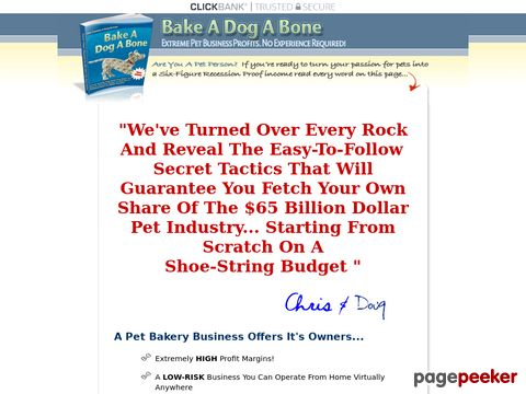 Bake-A-Dog-A-Bone – Step-By-Step Start-up Resources Guide!