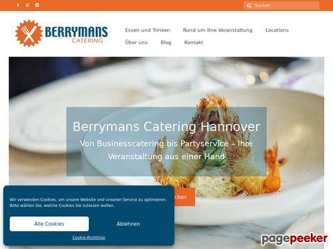 Catering Partyservice | Hannover Niedersachsen | Berrymans