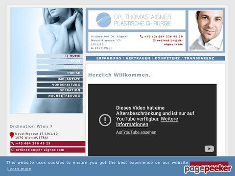 Brustvergroesserung Dr. Thomas Aigner