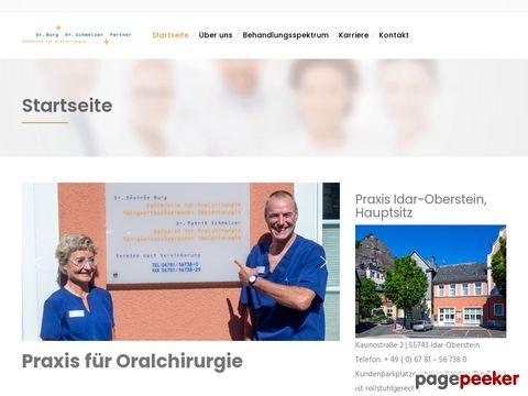 Praxis für Oralchirurgie Dr.Burg + Dr.Schmelzer