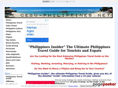 """Philippines Travel Guide - """"Philippines Insider"""" the Ultimat..."""