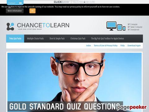 Trivia Quiz Questions - Trivia and Pub Quiz Questions - Chri...