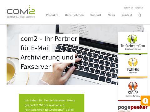 E-Mail Archivierung - Faxserver - VPN