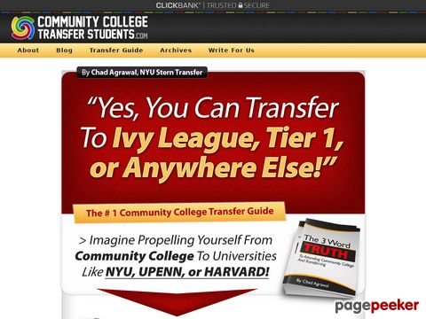 Community College Guide – How To Transfer To Ivy League & ...