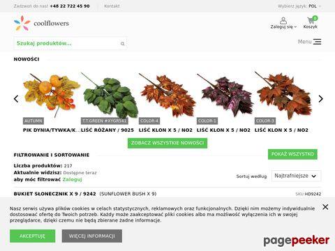 CoolFlowers - Sztuczne Kwiaty
