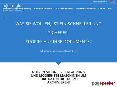 Scanservice, elektronische/digitale Archivierung für die Schweiz