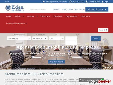 Agentia Eden Imobiliare Cluj
