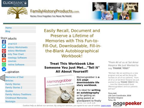 Write Your Life story With a Fill-in-the-Blank Workbook - Me...