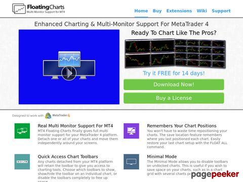 MT4 Floating Charts - Detach MetaTrader 4 Charts!