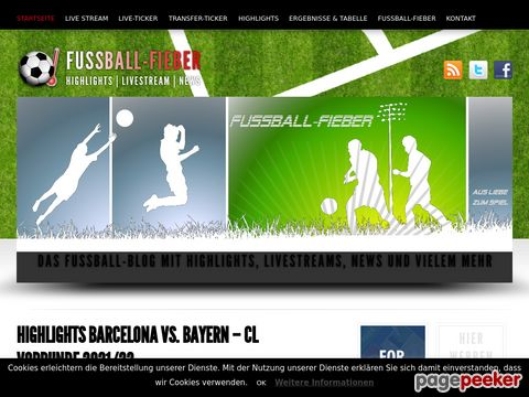 Fussball-Fieber - Highlights | Livestream | News