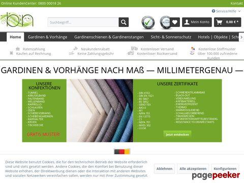 Gardinen Shop Dortmund - Gardinen, Meterware, Gardinenstoffe