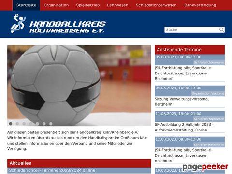 Handballkreis Köln/Rheinberg