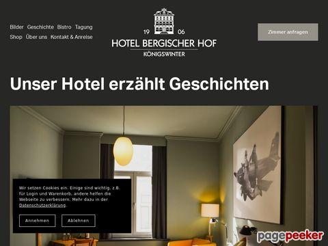 Hotel Königswinter - Hotel Bergischer Hof in Königswinter