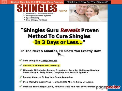 Fast Shingles Cure - The #1 Shingles Treatment Method Available