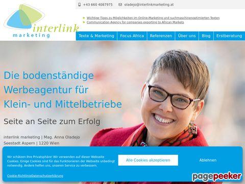 Interlink marketing: Kommunikation und Verkaufsförderung