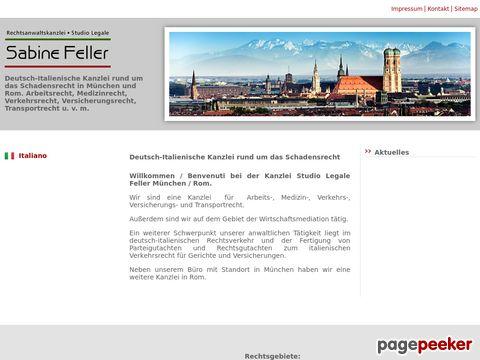 Deutsch-Italienische Kanzlei in München und Rom