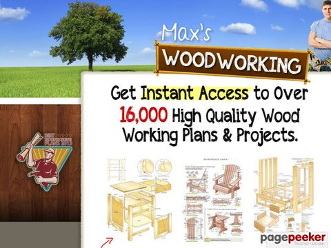 Max's Woodworking Plans and Projects