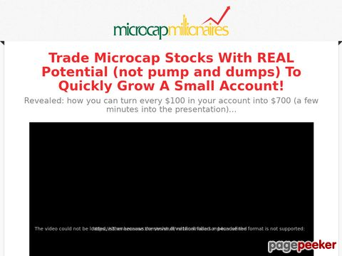 Summer Season Discount Offer - MicroCap Millionaires