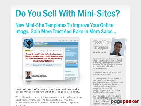 Sales Page Templates, Landing Page Templates, Squeeze Page T...