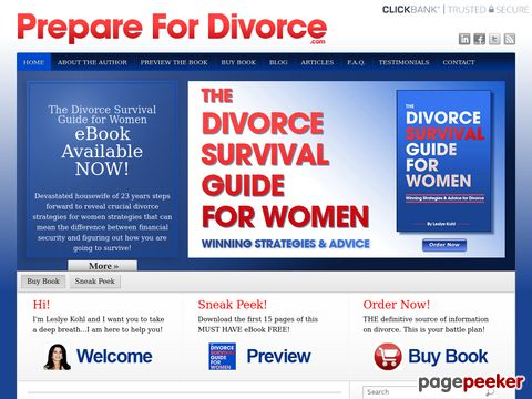 Divorce Advice for Women - Divorce eBook - PrepareforDivorce.com