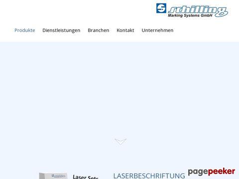 Industrielle Kennzeichnungstechnik von Schilling