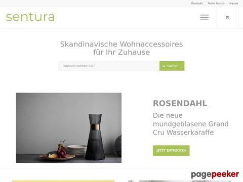 Sentura Wohnaccessoires Online Shop
