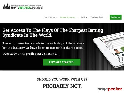 Sports Betting Systems & Picks by Rich Allen – Sports Betting Professor