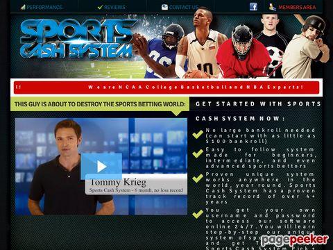 SportsCashSystem.com :: The #1 Sports Investing System – Best Sports Investing System