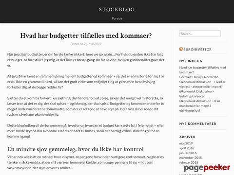 Aktier, Aktiehandel, Aktienyt, Aktieanbefalinger - STOCKBLOG.DK -