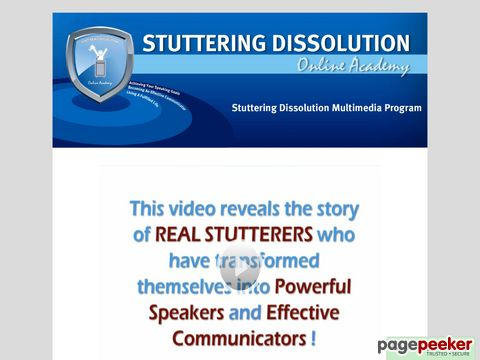 %name Stuttering Dissolution Multimedia Program