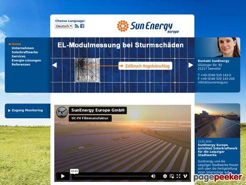 Solarmodule für die Photovoltaikanlage